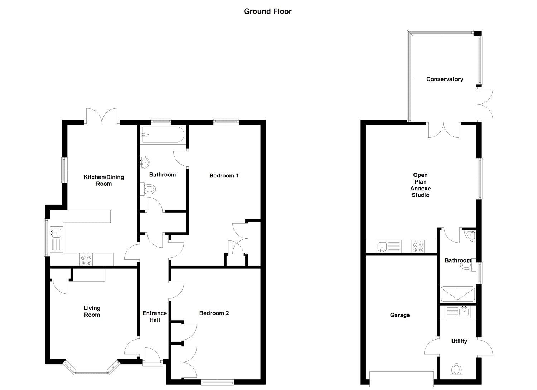 2 Bedroom Property For Sale In Station Road Branston