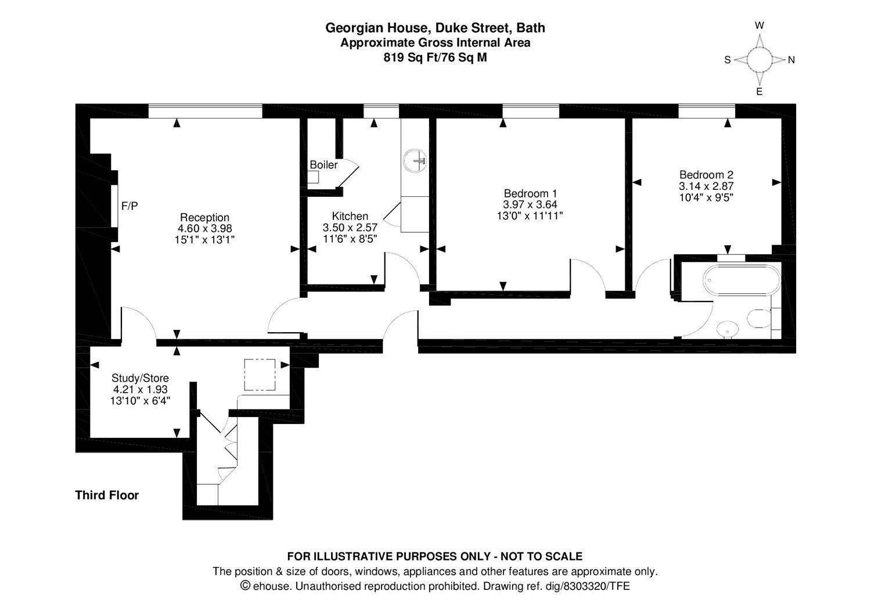 2 bedroom property for sale in Georgian House, Duke Street ...