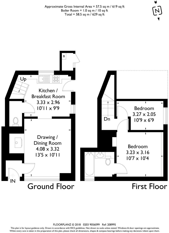 2 Bedroom Property To Rent In Village Street Petersfield
