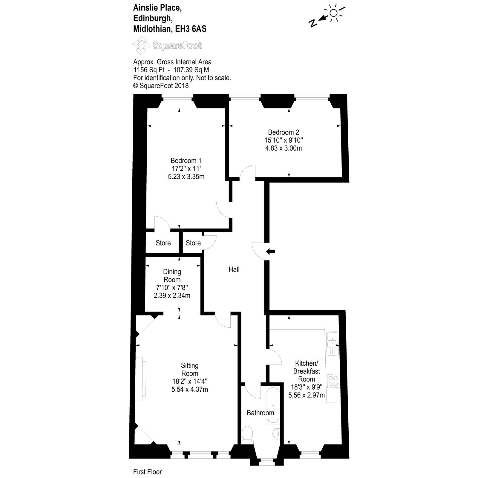 Floorplans For Ainslie Place Edinburgh EH3
