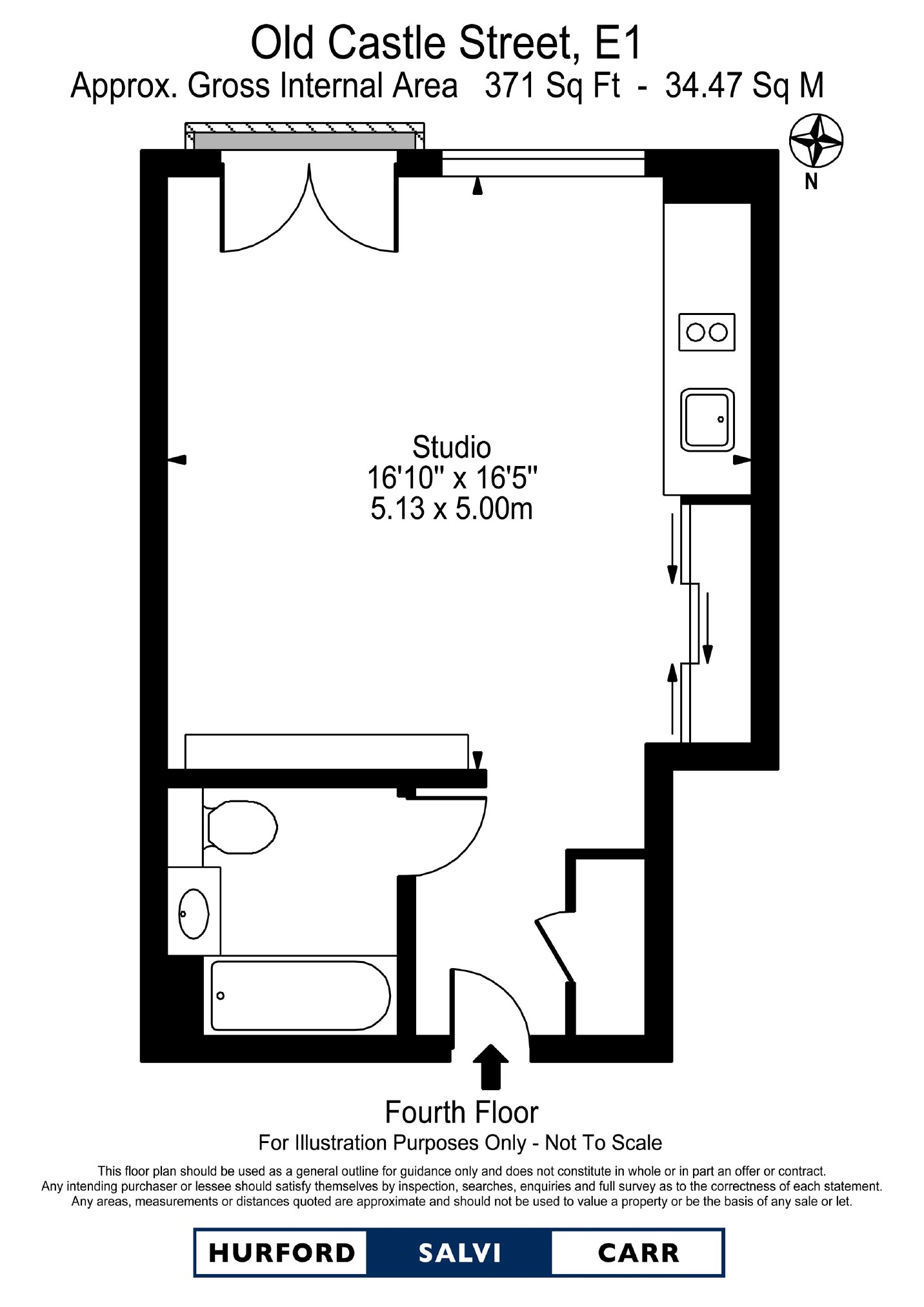 Old Castle Street, London, E1 floorplan