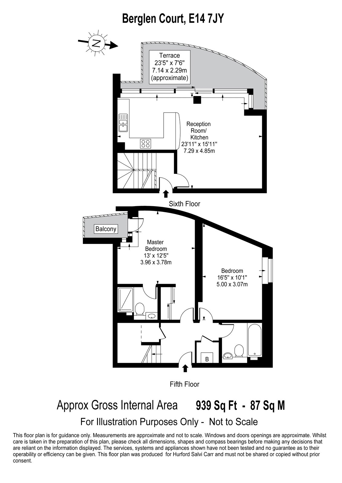 Berglen Court, Limehouse, E14 floorplan