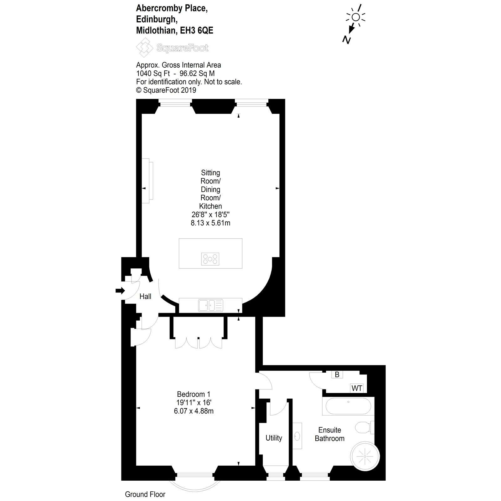 Floorplans for Abercromby Place, Edinburgh, EH3