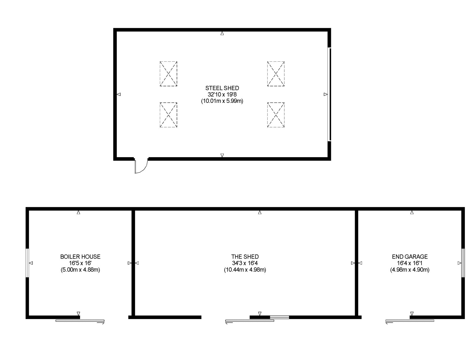Floorplans for Mannerston Holdings, Linlithgow, West Lothian, EH49