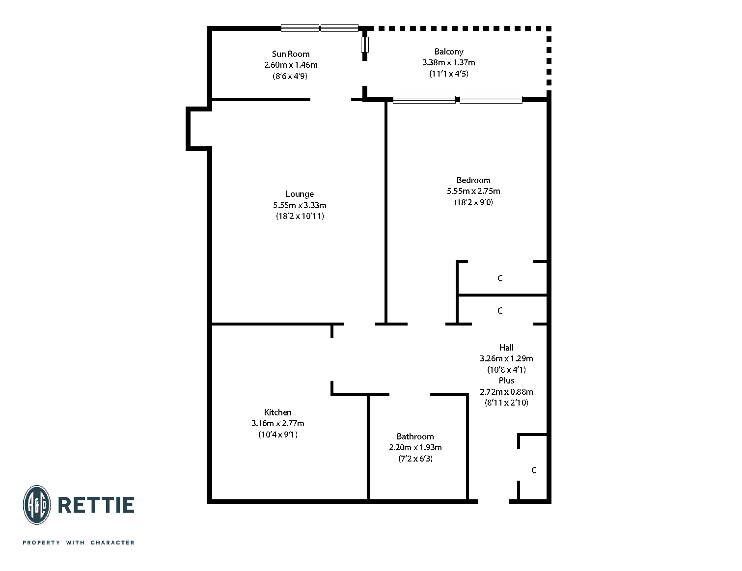Floorplans for Lancefield Quay, Finnieston, G3