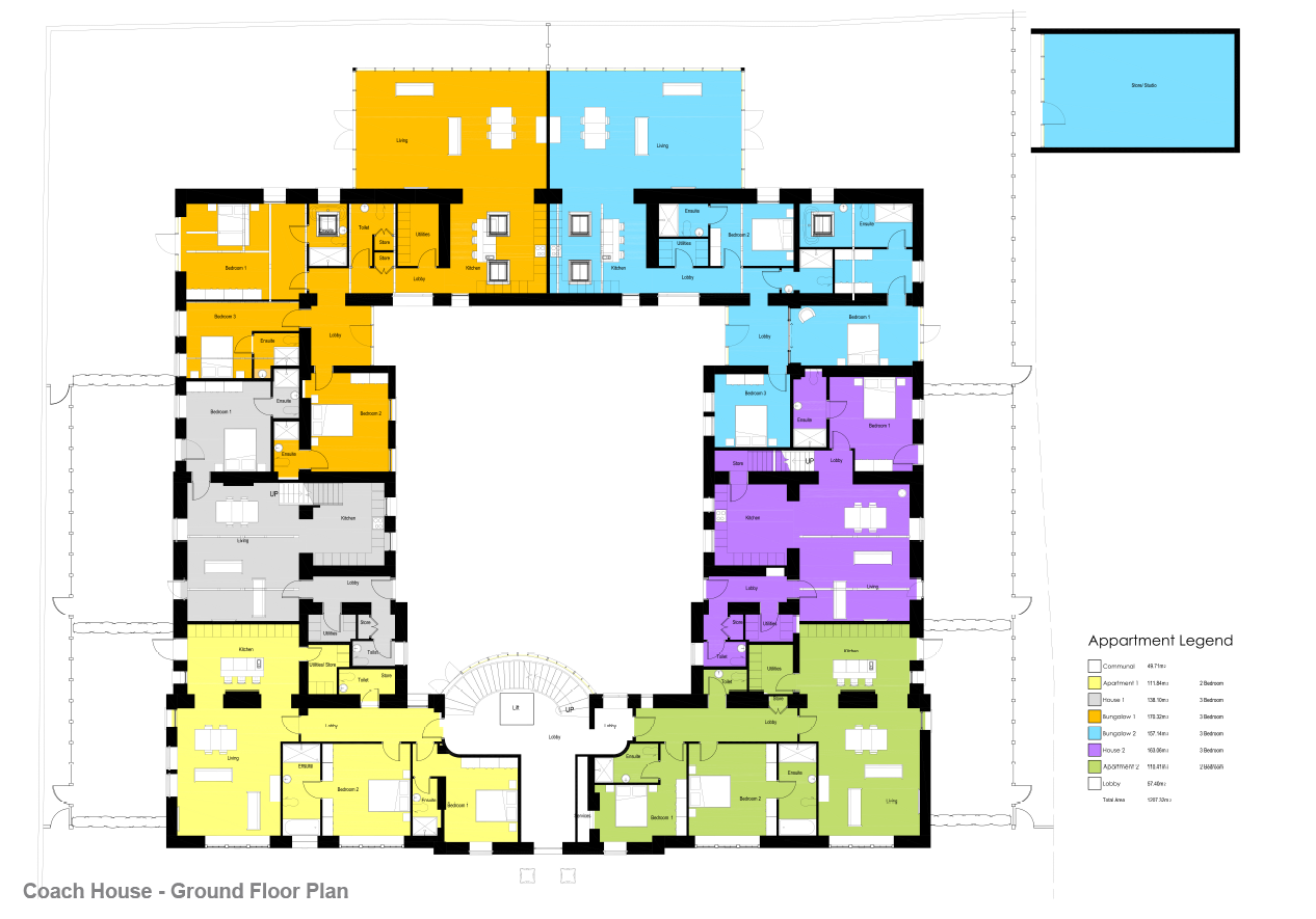 Floorplans for The Drive, Gosforth, Newcastle Upon Tyne, NE3