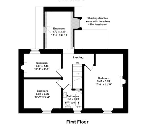 Floorplans for Mersington Mill, Greenlaw, Berwickshire, TD10