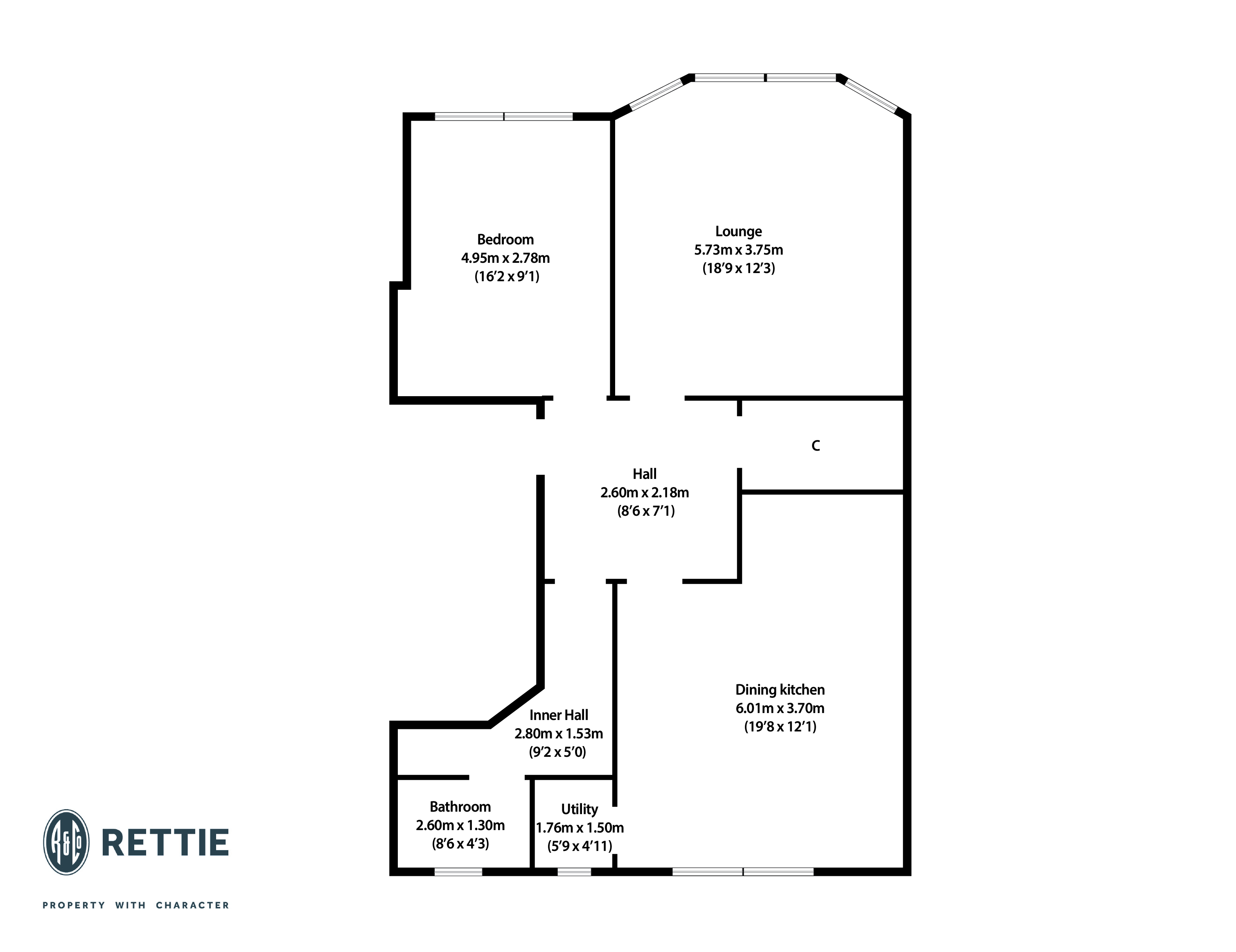 Floorplans for Randolph Road, Broomhill, Glasgow, G11