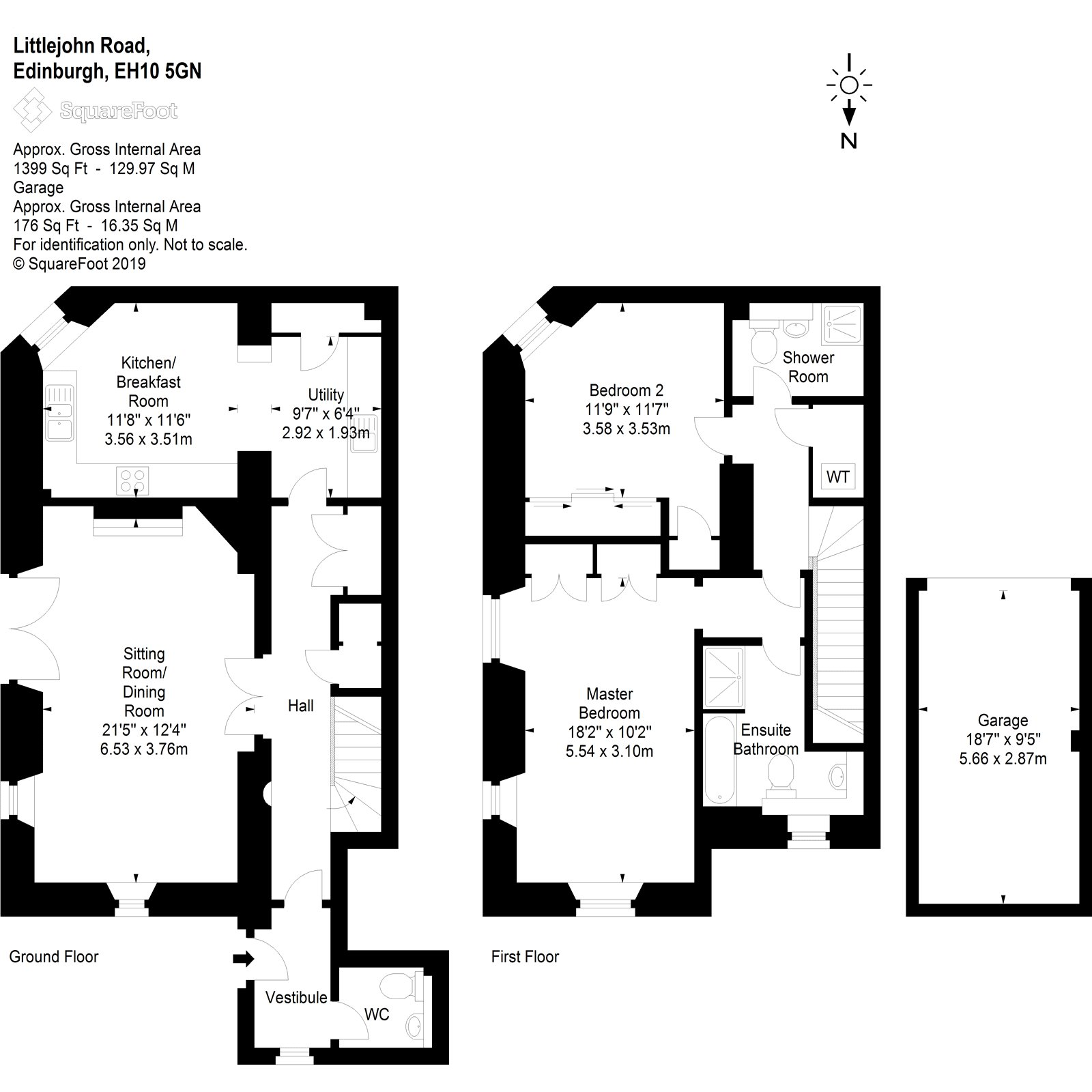 Floorplans for Littlejohn Road, Greenbank Village, Edinburgh, EH10