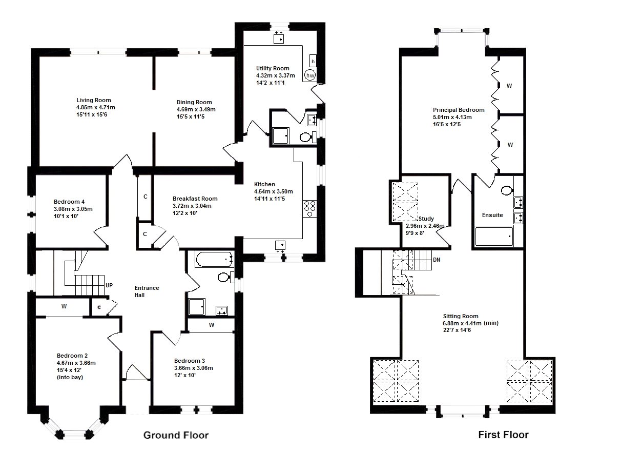 Floorplans for Drumanach, Hume, Kelso, TD5