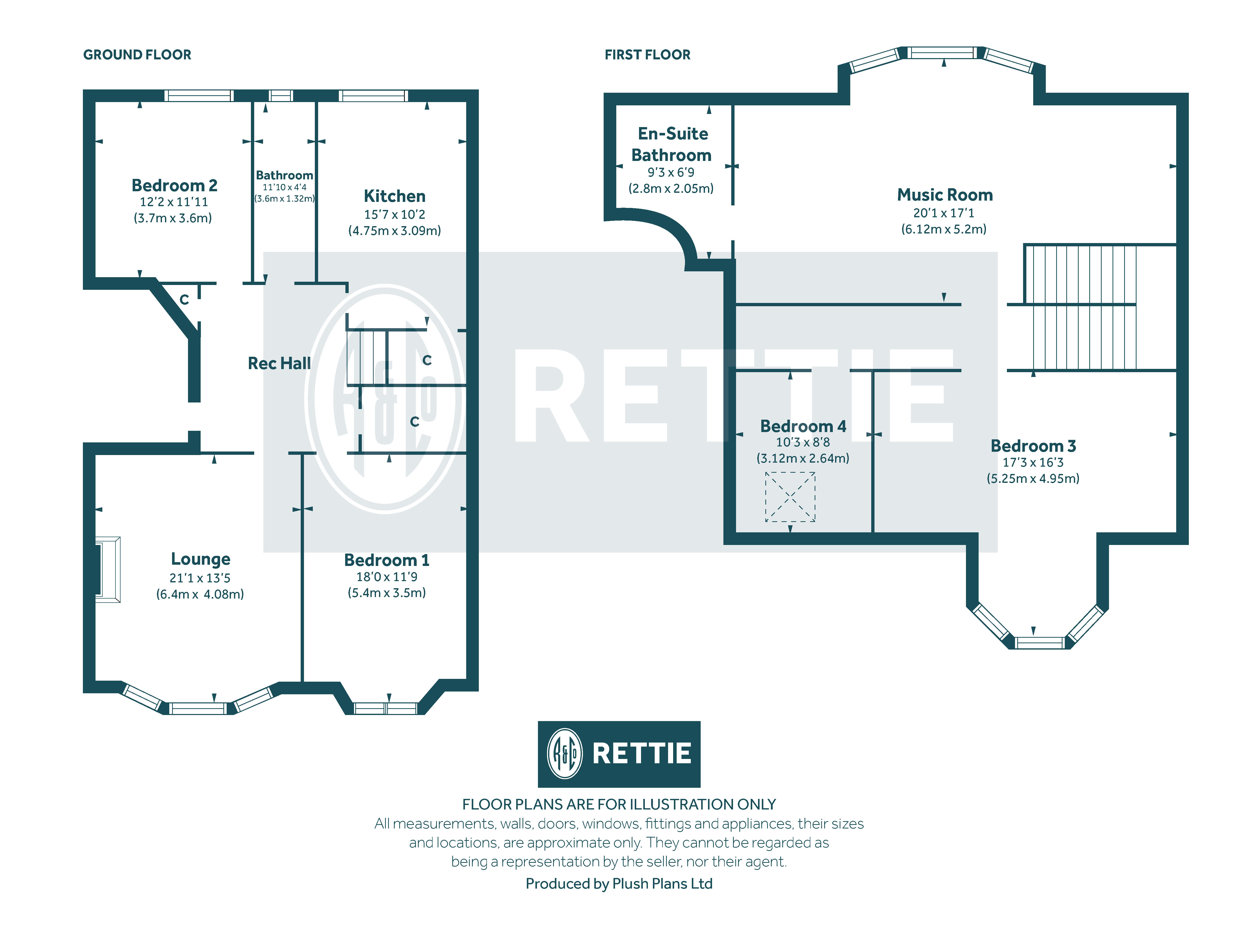 Floorplans for Hampden Terrace, Mount Florida, Glasgow, G42