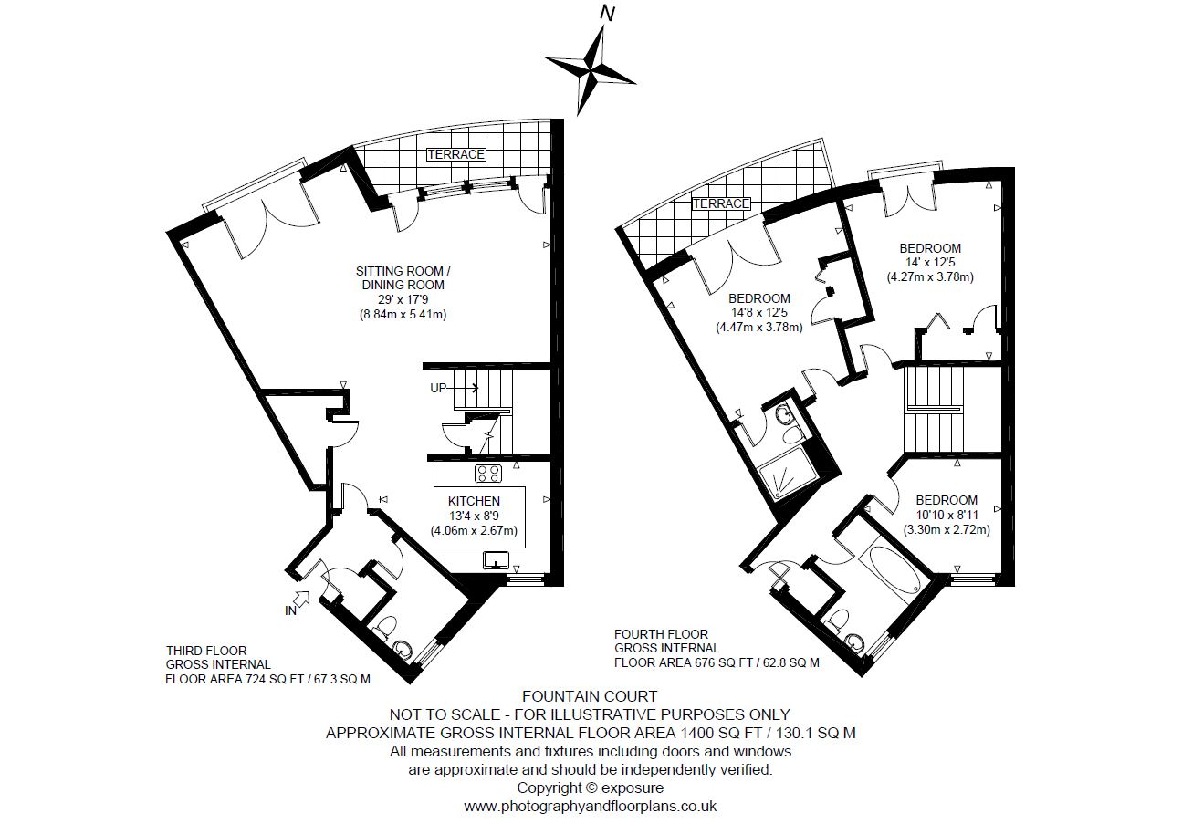 Floorplans for 3/10 Lower Gilmore Bank, Edinburgh, Midlothian, EH3