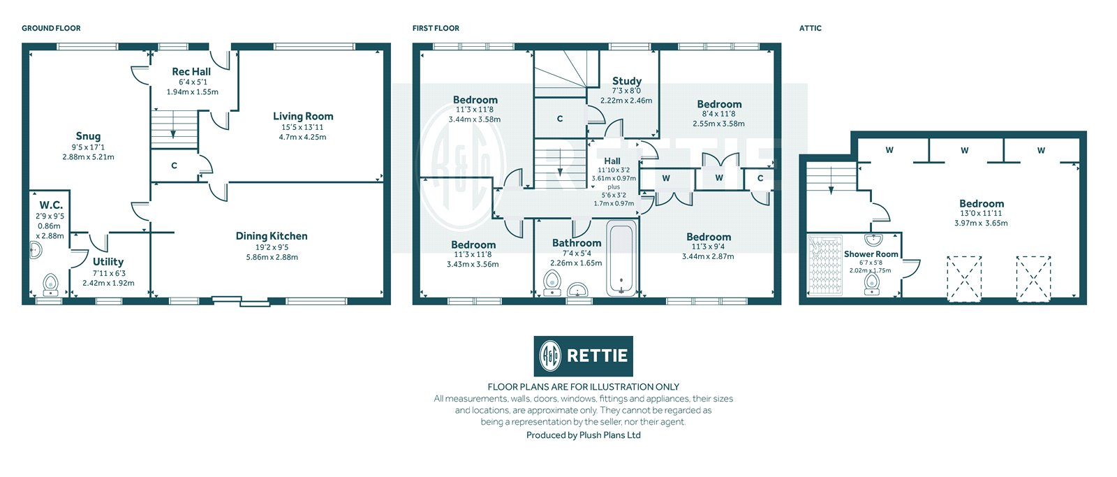 Floorplans for Kelvindale Road, Kelvindale, Glasgow, G12