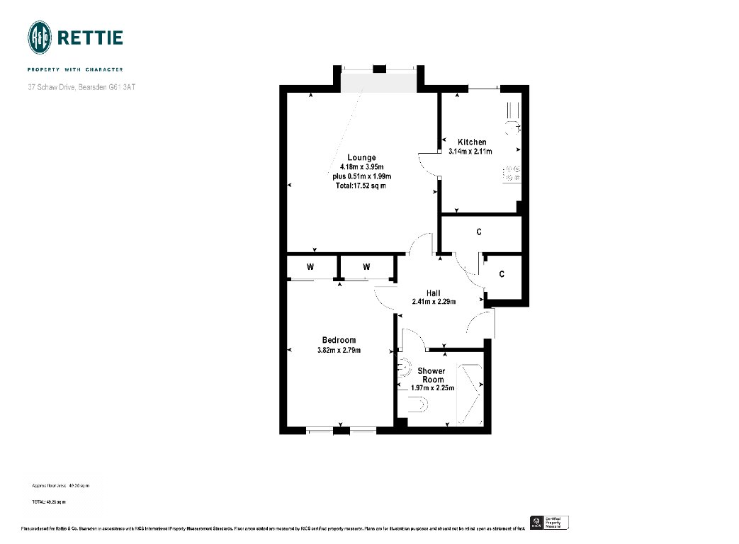 Floorplans for Schaw Drive, Bearsden, Glasgow, G61