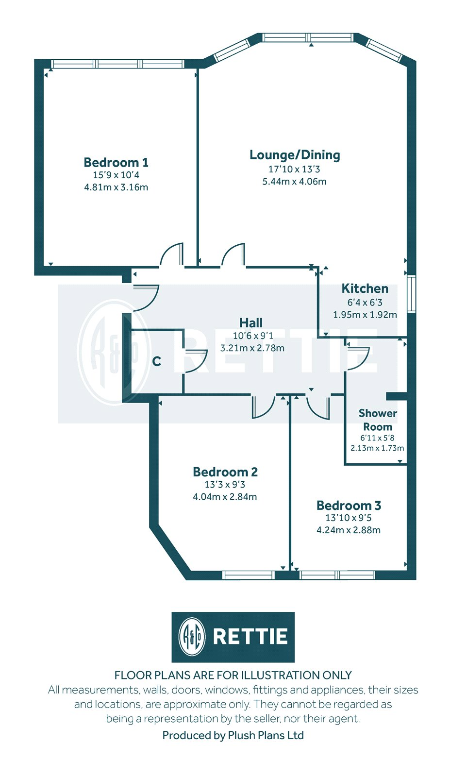 Floorplans for Randolph Road, Glasgow, G11