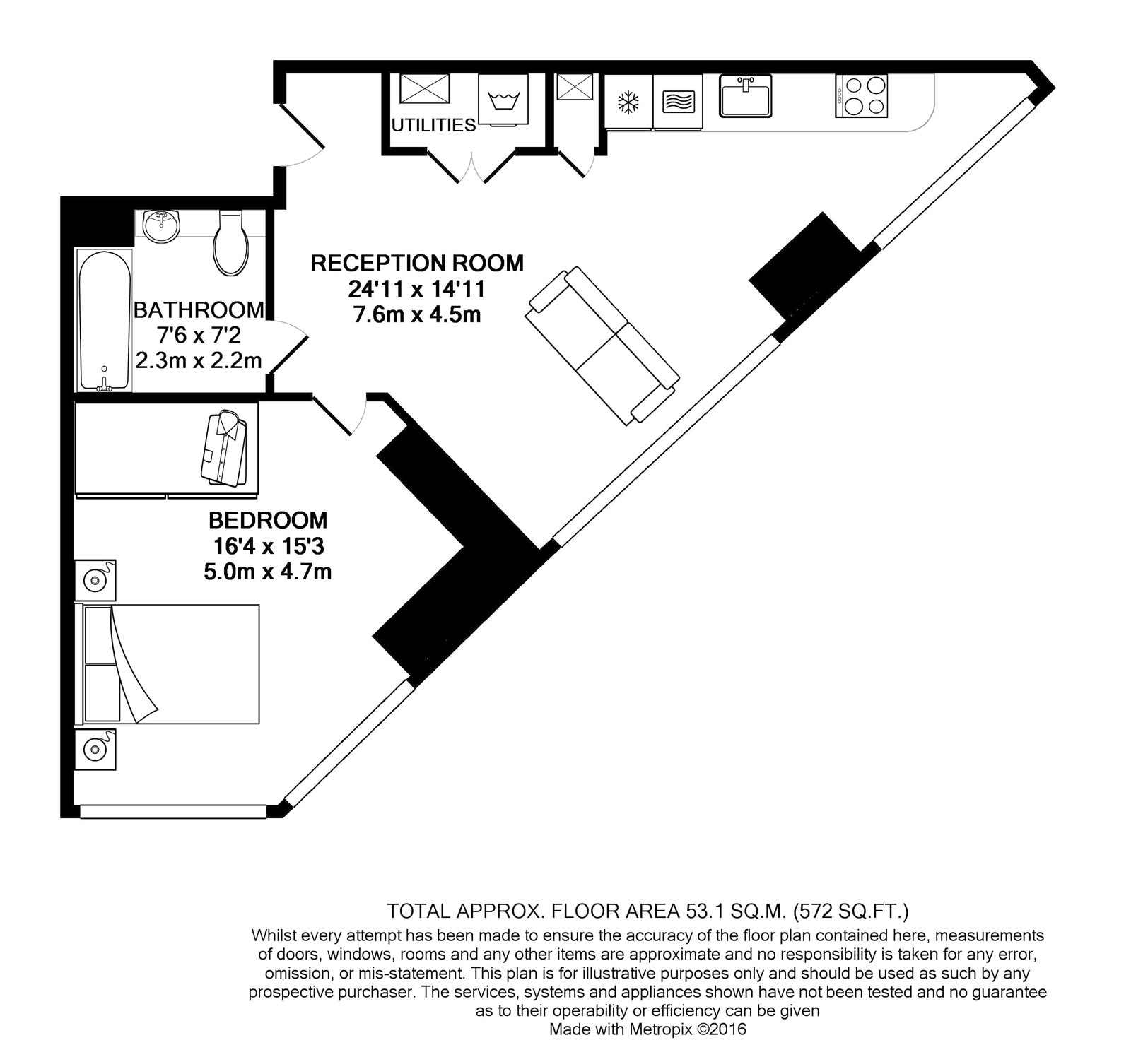 Chronicle Tower, 261b City Road, LONDON, EC1V floorplan