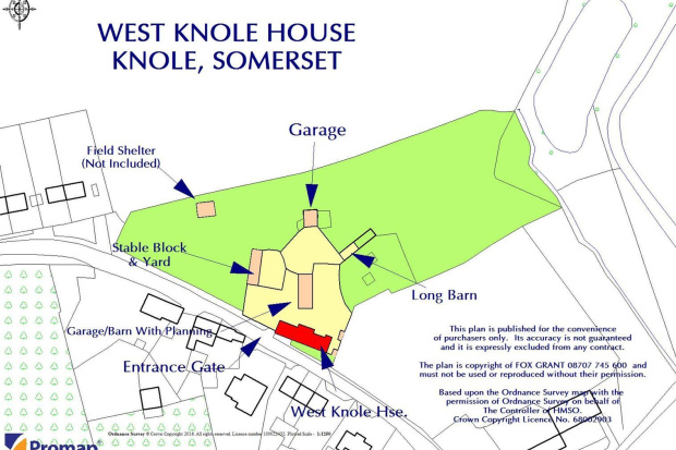 4 bedroom property for sale in Knole Langport 795000 – Knole House Floor Plan