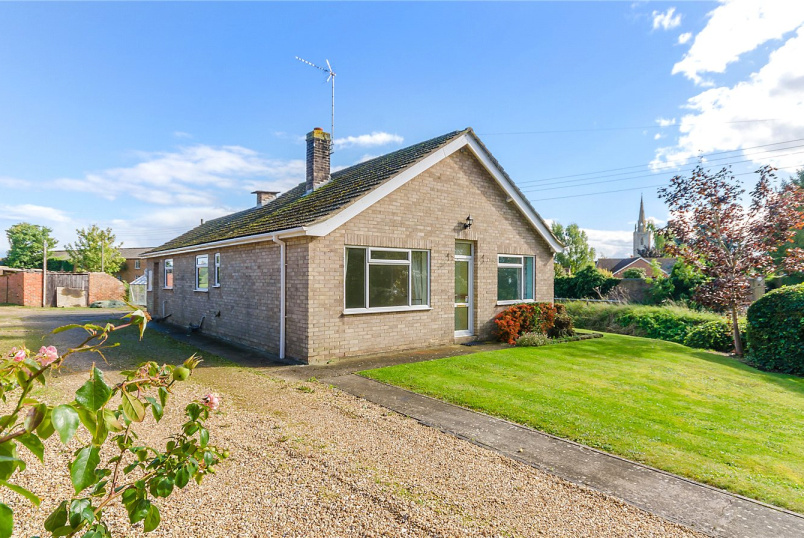 Bungalow for sale in Sleaford - Billingborough Road, Horbling, Sleaford, NG34
