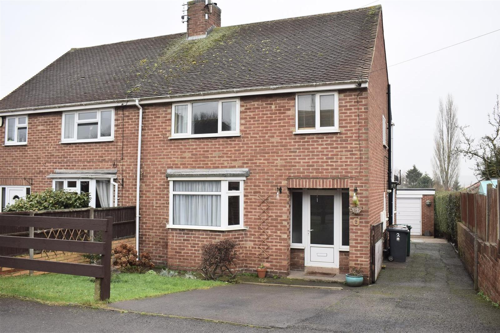 3 Bedrooms Detached House for sale in Longlands Road, Midway, Swadlincote