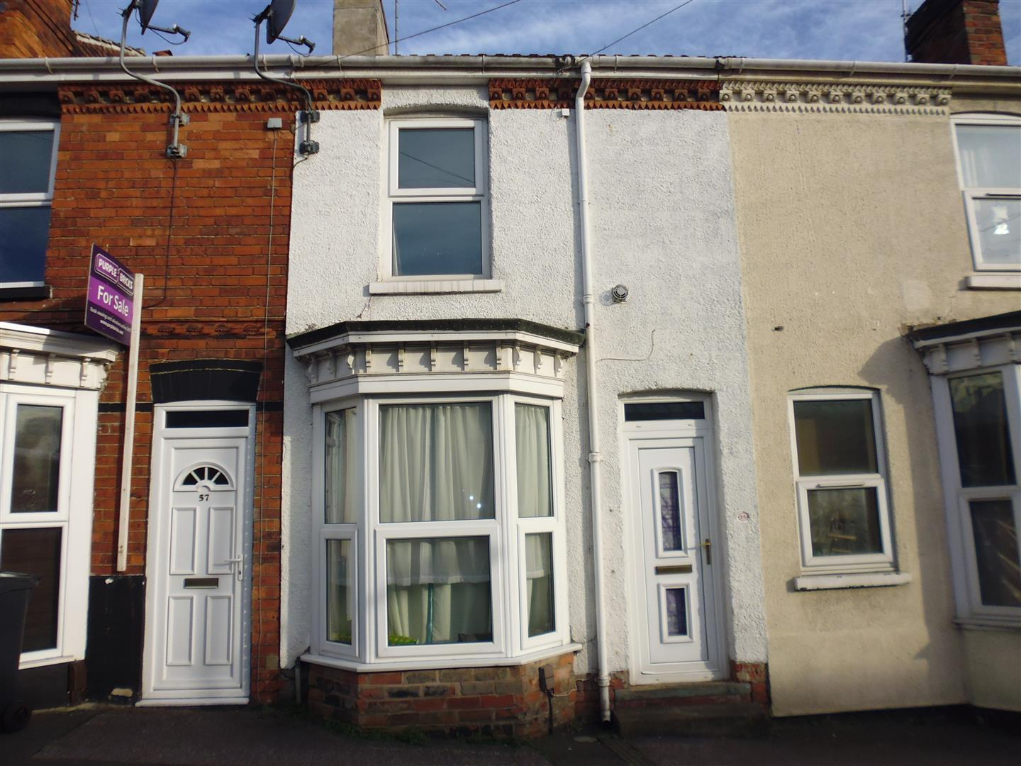 2 Bedrooms Terraced House for sale in Montague Street, Lincoln