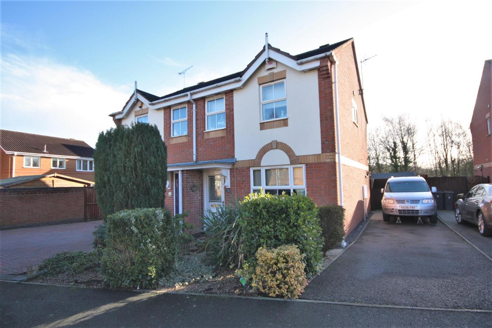 3 Bedrooms Detached House for sale in Lords Close, Coalville