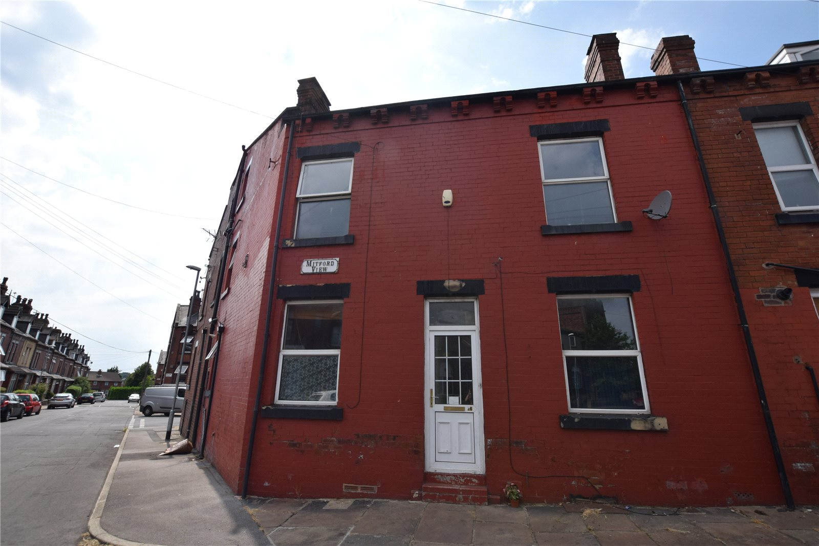 Property for sale in Worltey, exterior of terraced house