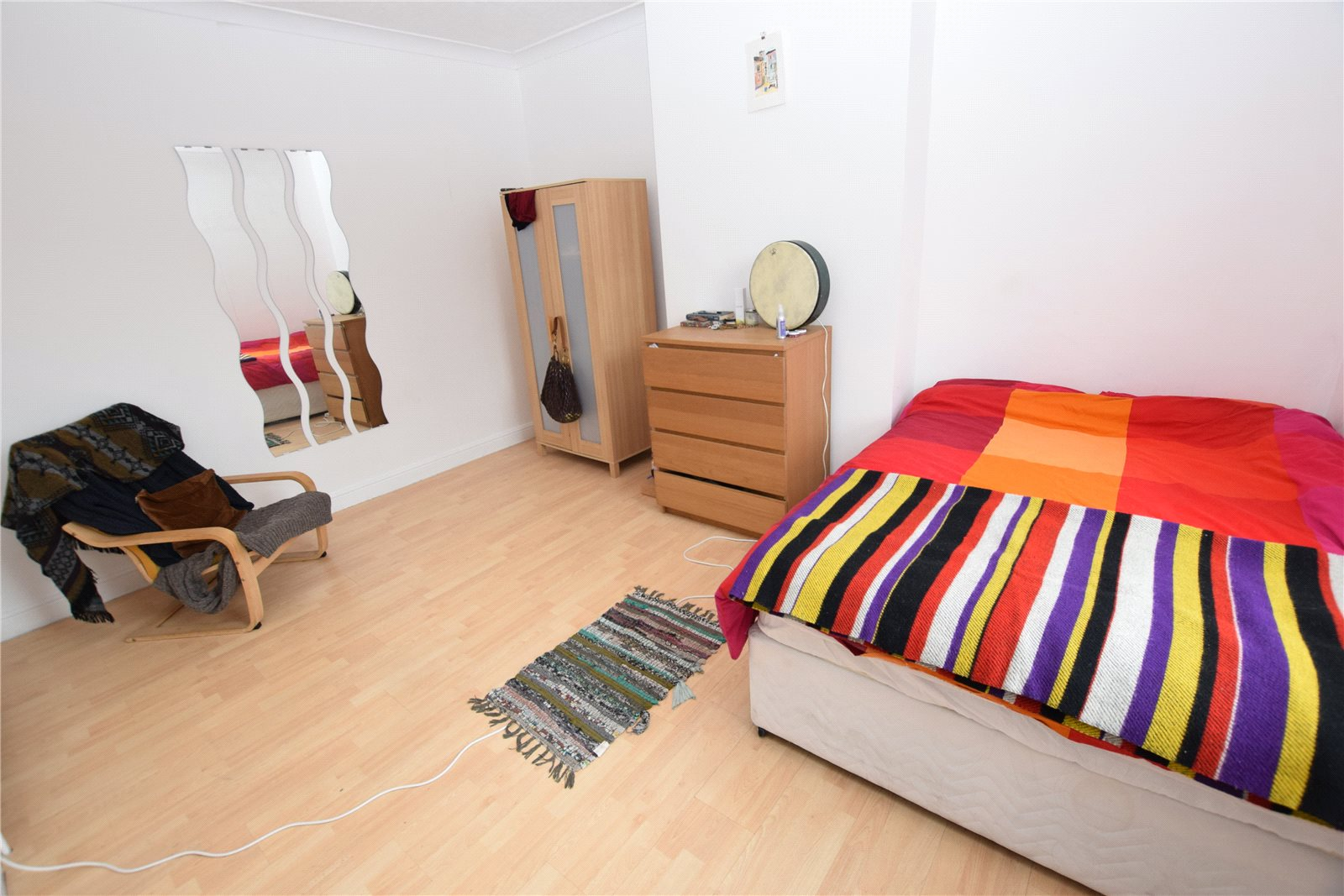 Property for sale in Wortley, interior spacious double bedroom