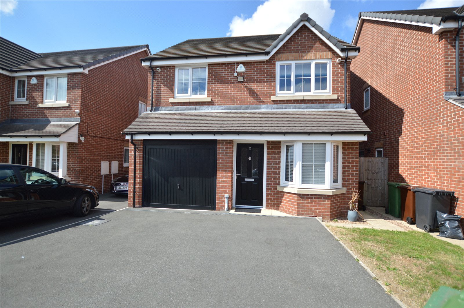Property for sale in Morley, exterior, red brick detached home