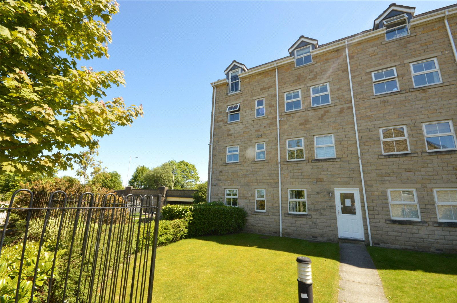 Property for sale in Guiseley exterior apartment building