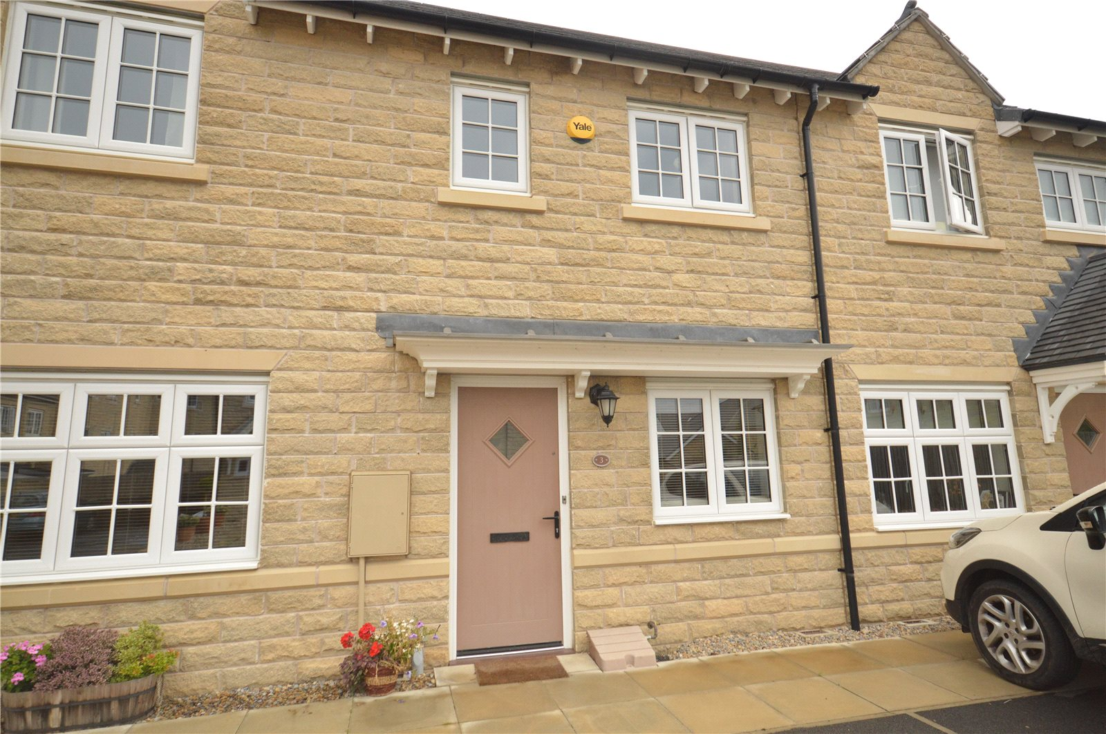 Property for sale in Horsforth exterior of two bed terraced house