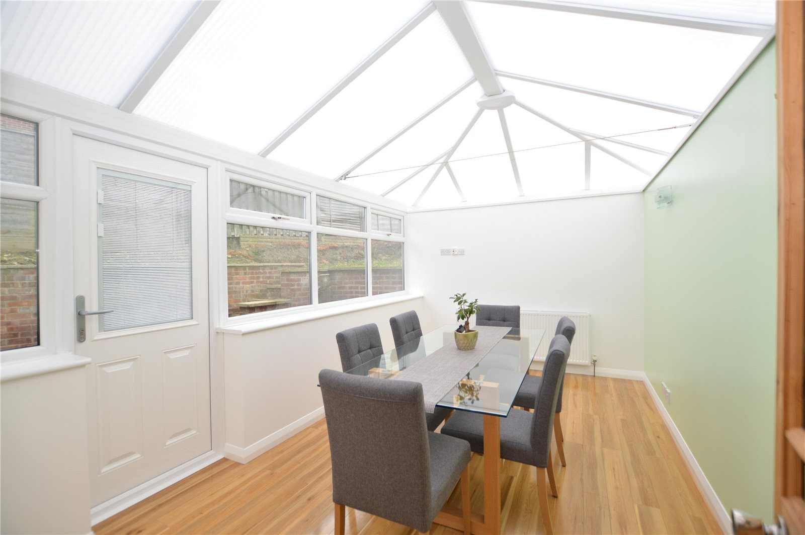 property for sale in Morley. dining room conservatory area