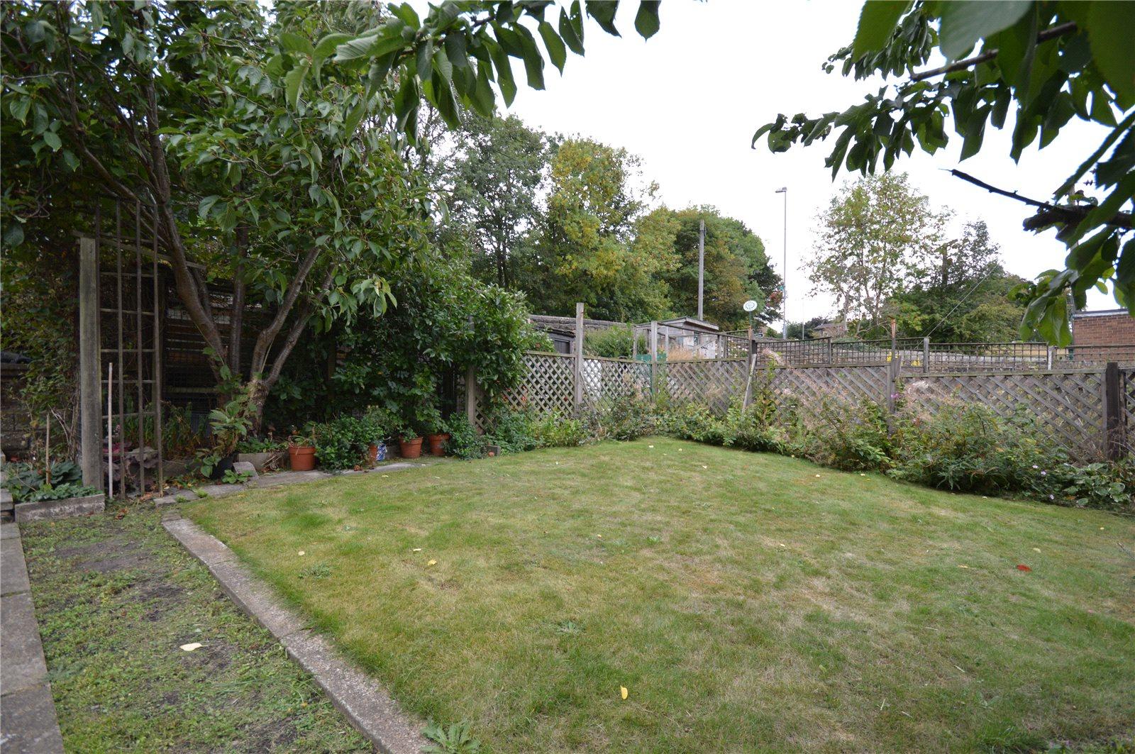 property for sale in Wakefield, rear garden