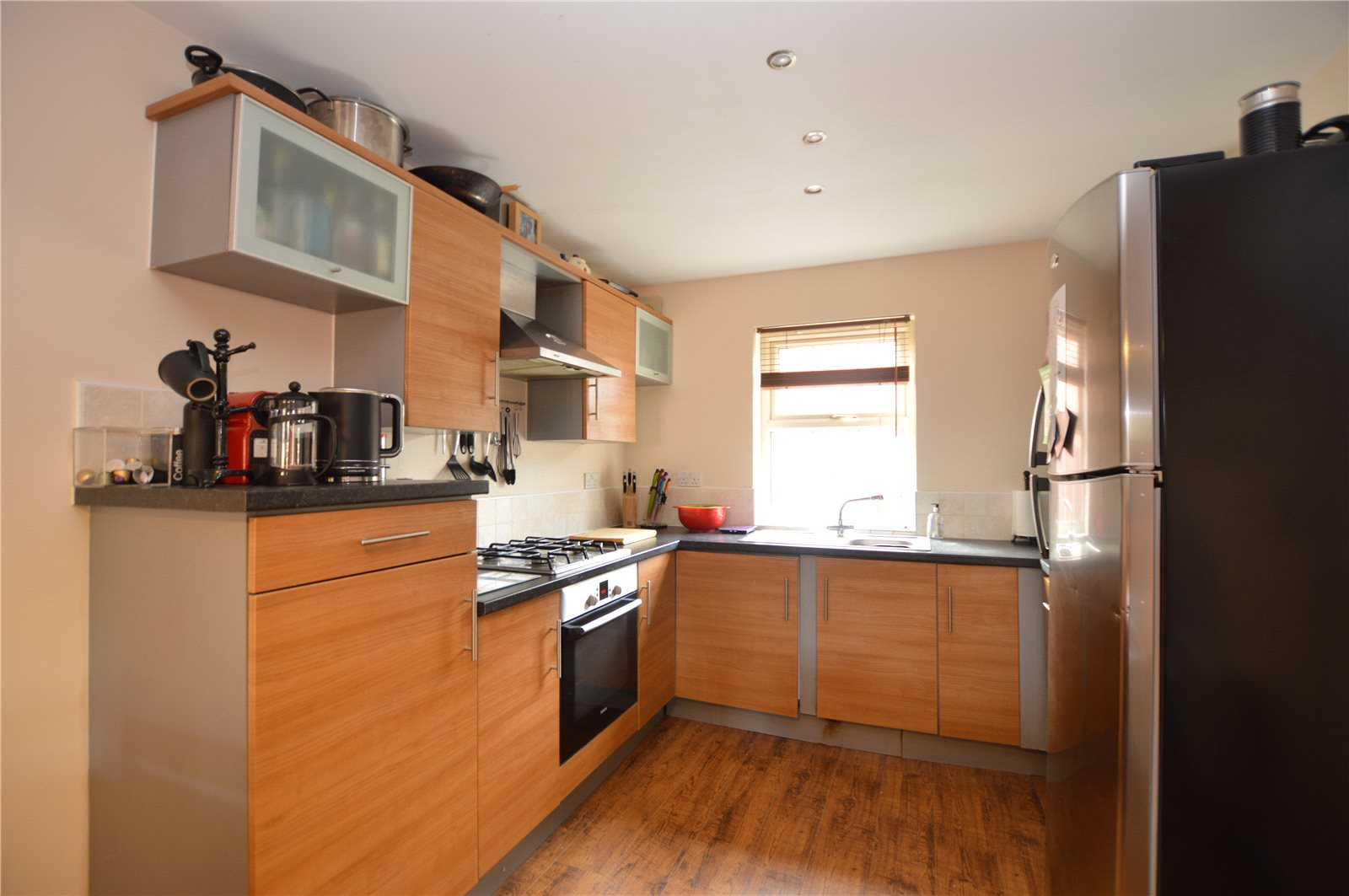 property for sale in Pudsey, interior fitted modern kitchen space