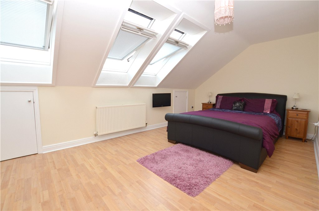 apartment for sale in pudsey, interior double bedroom