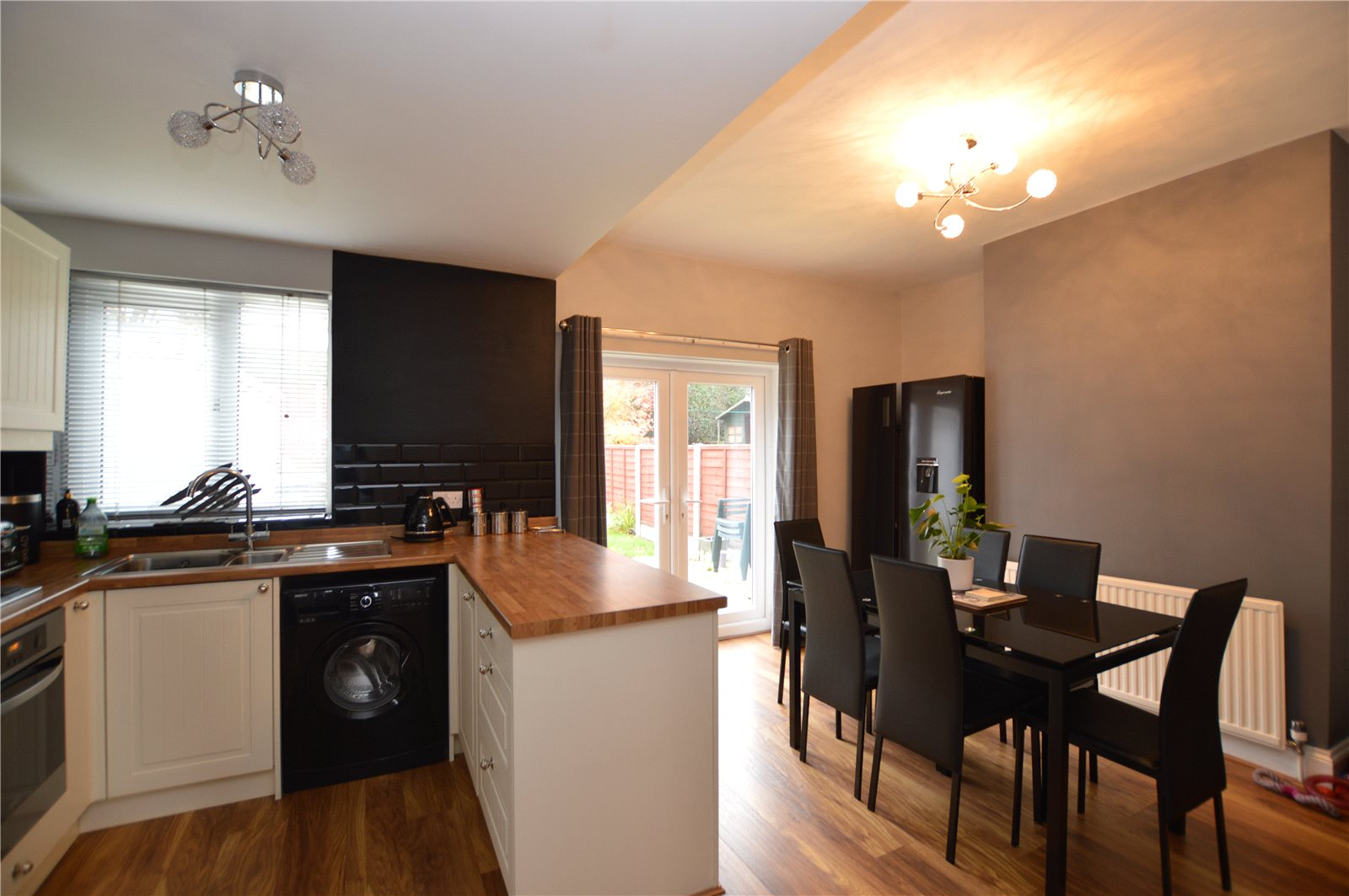 Property for sale in Morley, interior kitchen open plan dining