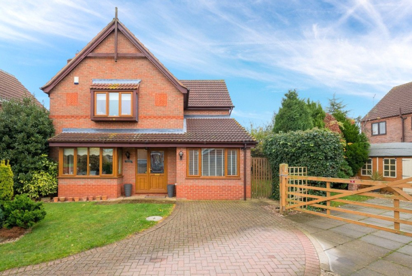 House for sale in Sleaford - Quantock Court, Sleaford, Lincolnshire, NG34