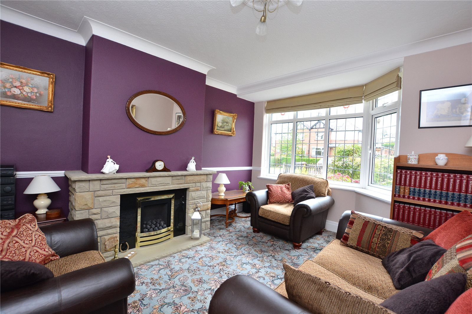 Property for sale in Horsforth, interior reception room