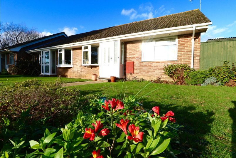 Bungalow for sale in Milford On Sea - Rodbourne Close, Everton, Lymington, SO41