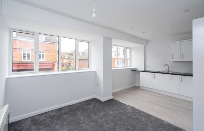A brand new apartment with HELP TO BUY and parking