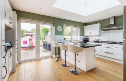 Beautifully presented home with a wonderful blend of period features and modern style