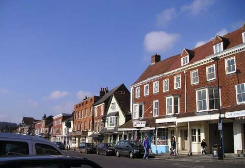 High Street, Marlborough, Wiltshire