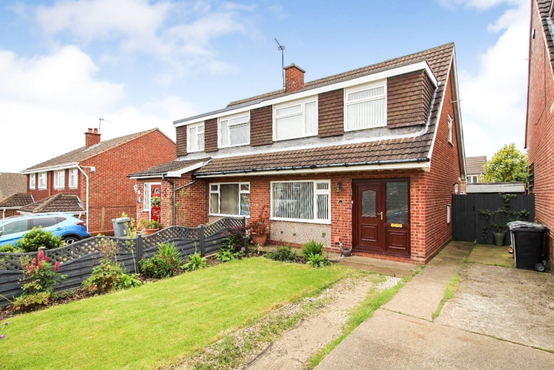 House for sale in Grantham - Ashley Drive, Gonerby Hill Foot, Grantham, NG31