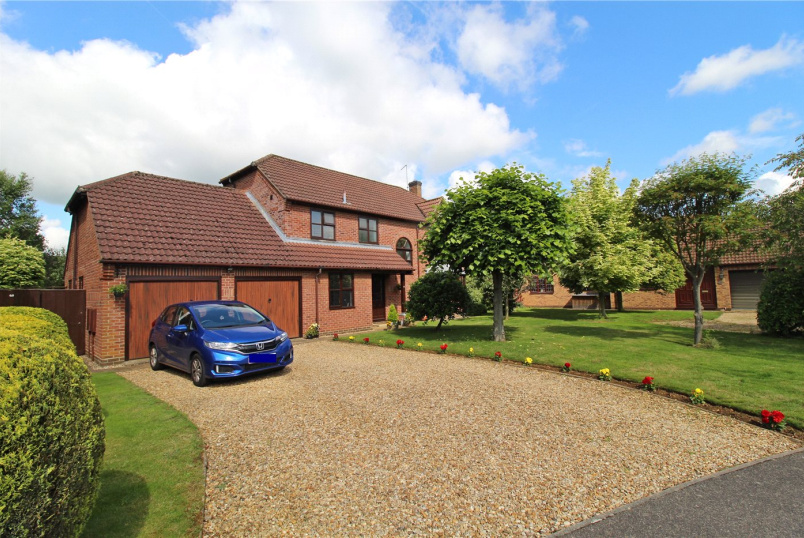 House for sale in Market Deeping - Aveland Way, Baston, Peterborough, PE6