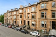 View of Lynedoch Place, Park, Glasgow, G3