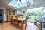 A family home offering over 2242 sq ft of flexible accommodation and great views 2