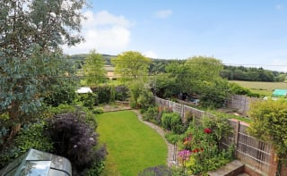 A family home offering over 2242 sq ft of flexible accommodation and great views