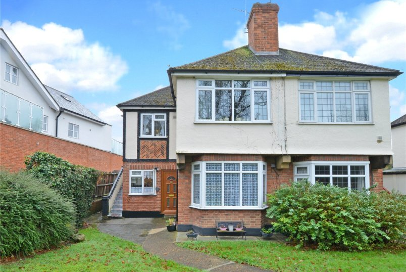 Maisonette to rent in Worcester Park - Nonsuch Court, Ewell Road, Sutton, SM3