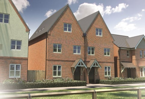 Plot 244, The Scarsdale,  Banbury Rise