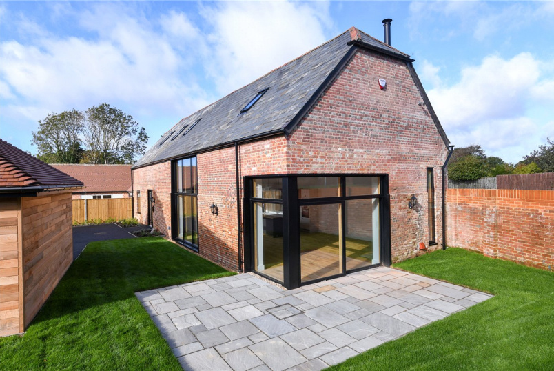 Barn conversion for sale in  - Hoburne Farm Mews, Highcliffe, Christchurch, BH23