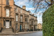View of Learmonth Terrace, Edinburgh, EH4